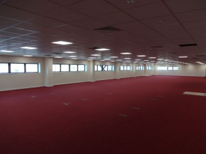 Internal fit out work