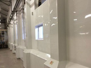Hygienic PVC Wall Cladding